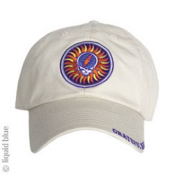 602d91996c0386 17.95, Grateful Dead Steal Your Face Sun Stone Cap -- one of many great hats  and